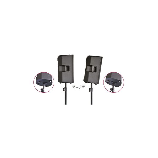 2 x Avante Audio A12 with Stands and Bag Package
