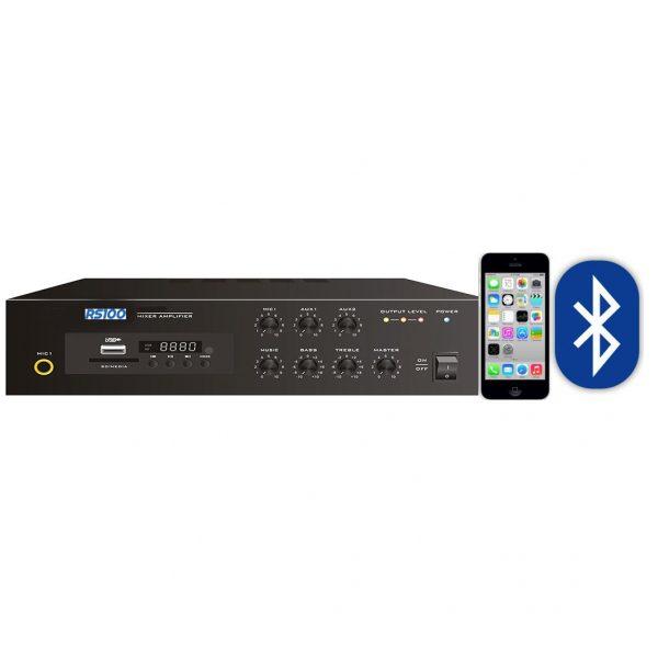 4 Speaker 2 Zone Bluetooth Background Music Sound System