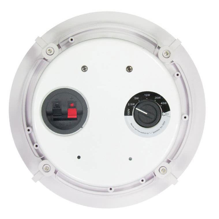 """C Audio 100V 8"""" 40W Ceiling Speaker"""
