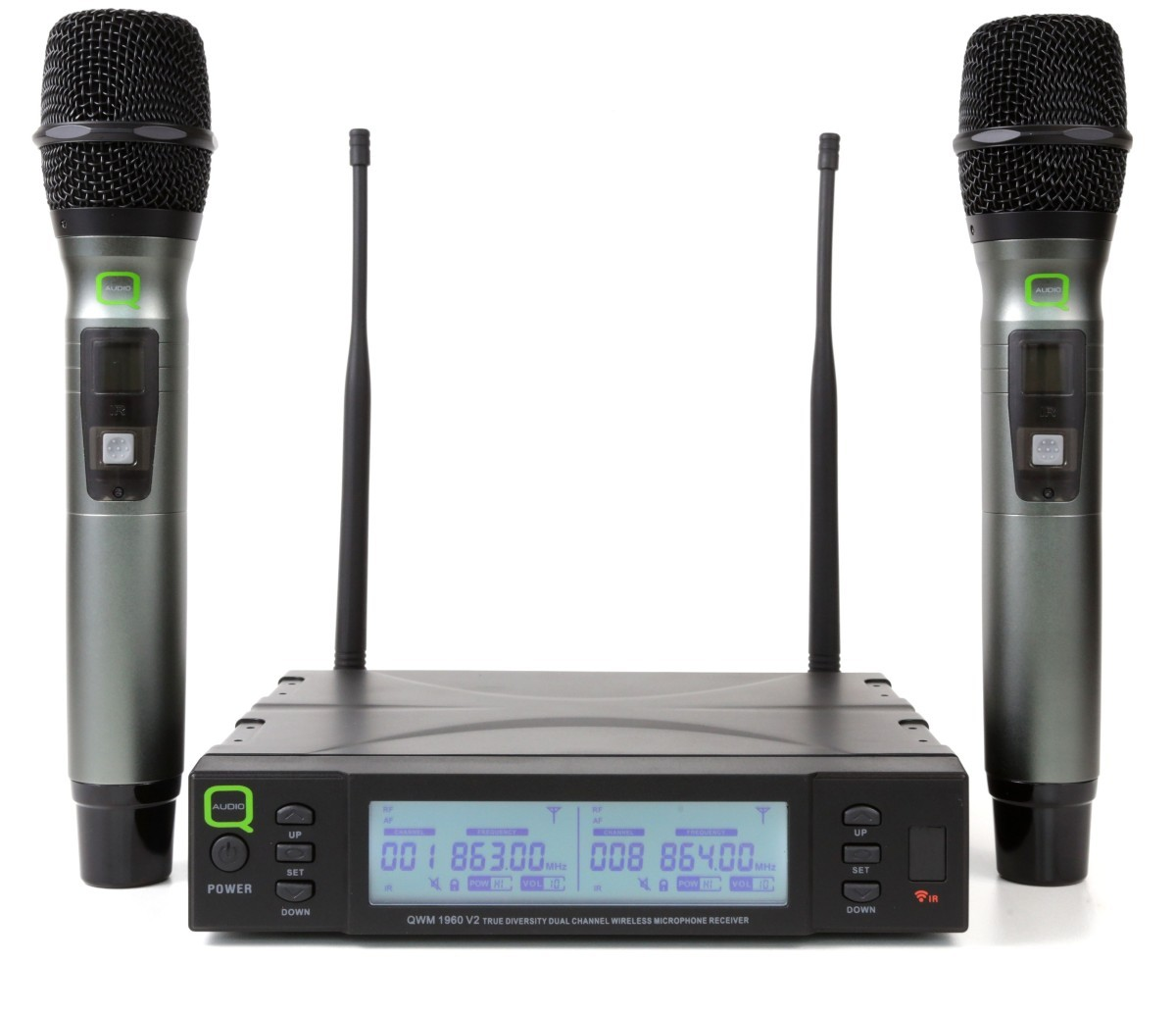 Q Audio Wireless Microphone System
