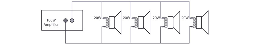 100v Line Speakers Diagram And Wiring Help