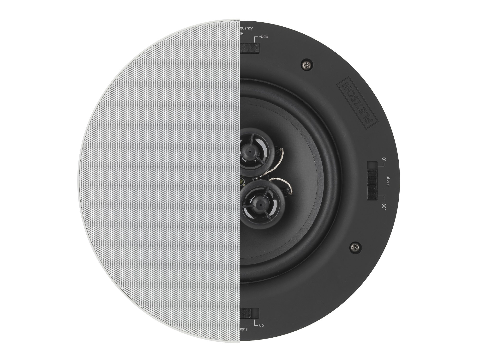 Flexson Ceiling Speaker 65x3 Pair Hi Fi Speakers Wiring