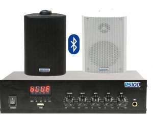 Outdoor background Sound System |RS100 Pro Audio Visal & CCTV