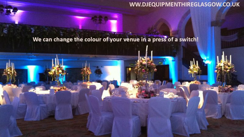 LED Uplighting Hire RS100
